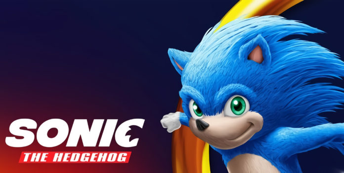 Sonic the Hedgehog Poster Live Action