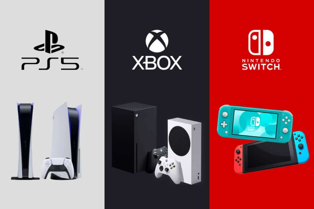 Xbox, Nintendo dan PlayStation