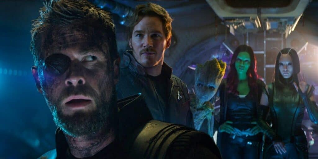 Guardians of the Galaxy GOTG Thor 4 Love and Thunder