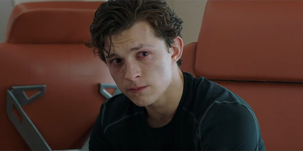 Peter crying